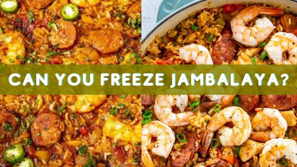 Yes you can freeze Jambalaya