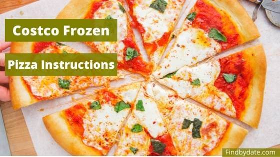 costco frozen pizza cooking instructions