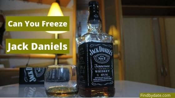 does jack daniels freeze