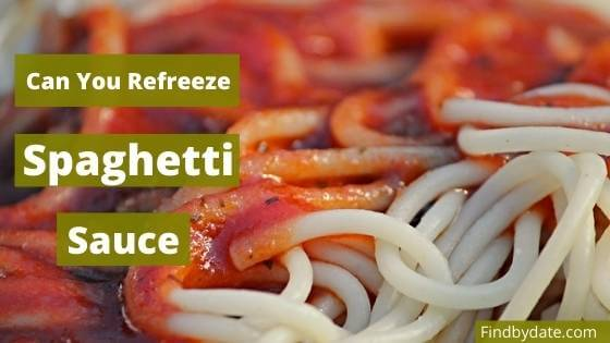 How to freeze Spaghetti Sauce