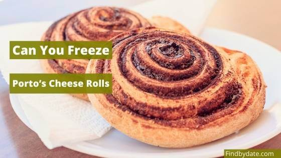 Freezing Porto's Cheese Rolls